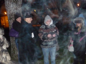 More than what you'd expect on a ghost tour!
