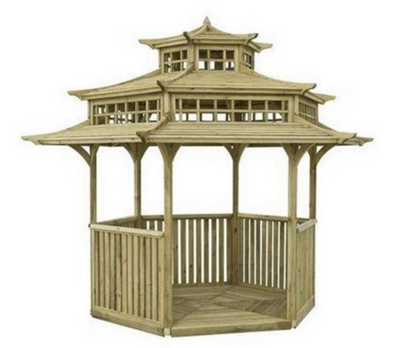 Sinple tea hut shelter