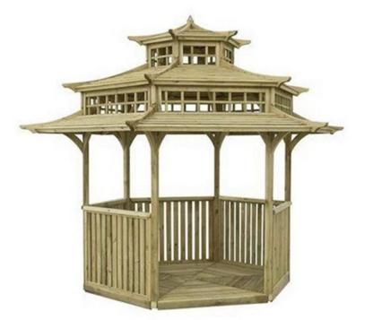 Sinple tea hut shelter