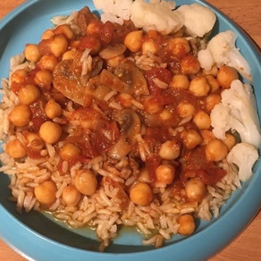 Beef and Chickpea Casserole