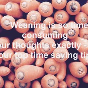 Weaning Time Saving Tips