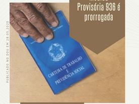 Medida Provisória 936 prorrogada por mais 60 dias