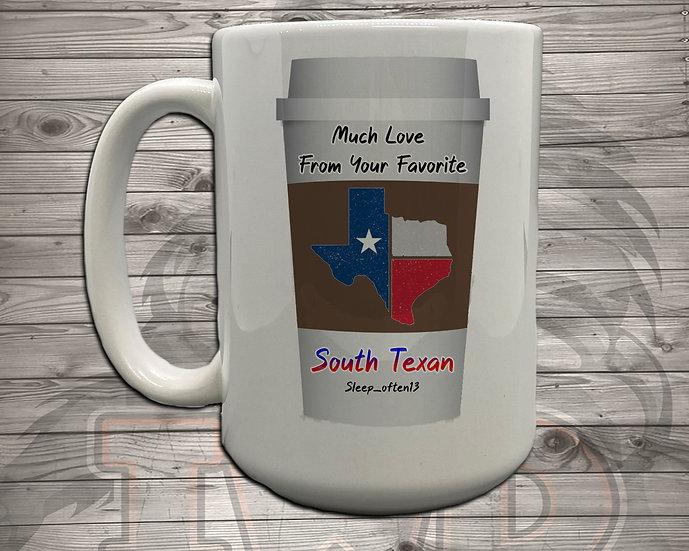 210803.5 - Texan Coffee Cup - 5 Styles of Mugs