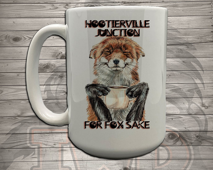 210618.5 - Hootiervile Junction - For Fox Sake - 5 Styles of Mugs