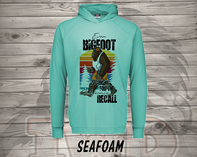 210714.1 Even Bigfoot is Coming to the RECALL - Long Sleeve Hoodie