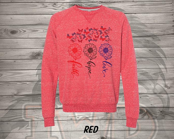 210706.7 - Faith, Hope, Love (RHR) - Sweatshirt