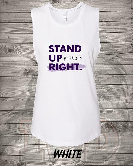 210609.4 - Stand Up - Sleeveless Ladies