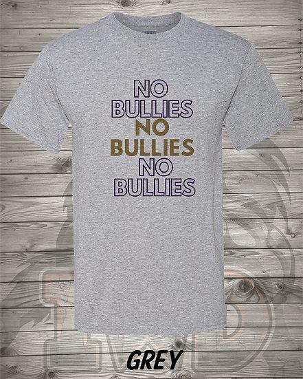 210609.1 - No Bullies X 3 - Unisex TShirt