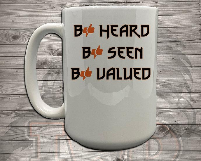 210910.2 - Clapper - Be Heard - 5 Styles of Mugs