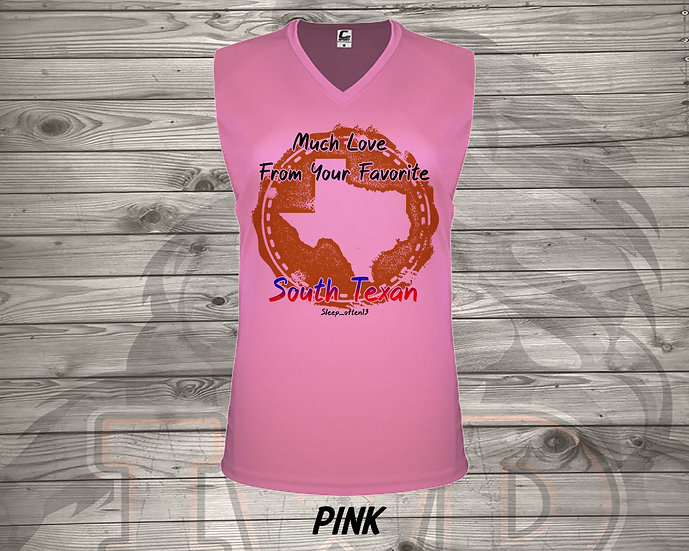 210727.1 - From Your Favorite South Texan- Ladies V- Neck Sleeveless