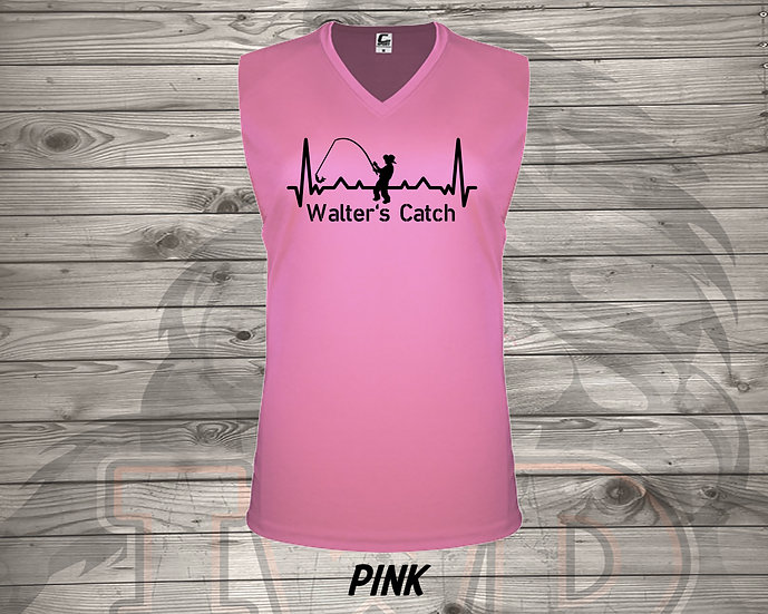 210716.1 Walter's Catch Cowgirl - Ladies V- Neck Sleeveless