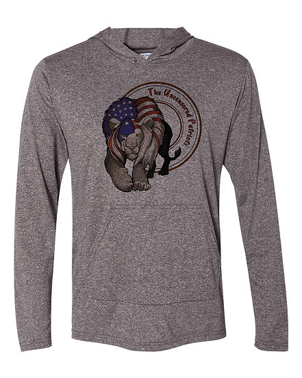 210216.3 Uncensored Patriot Lion Flag Long Thin Hoodie