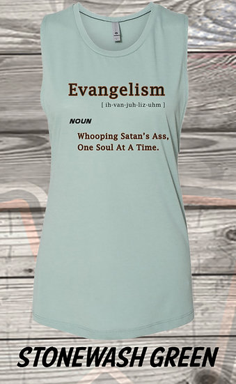 210611.6 - Evangelism - Ladies Sleeveless
