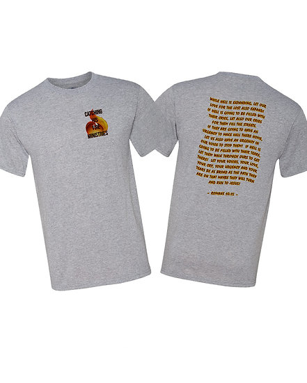 210422.2 - Catching His Fire Ministries - Romans 10:15 (Front & Back)