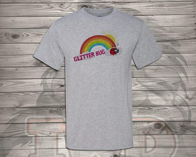 210706.11 - Glitterbug Rainbow - Unisex Tshirt