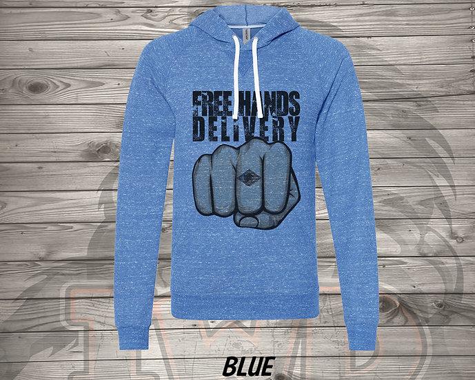 210615.8 - Hands Free Delivery - Unisex Long Sleeve Sweatshirt Hoodie