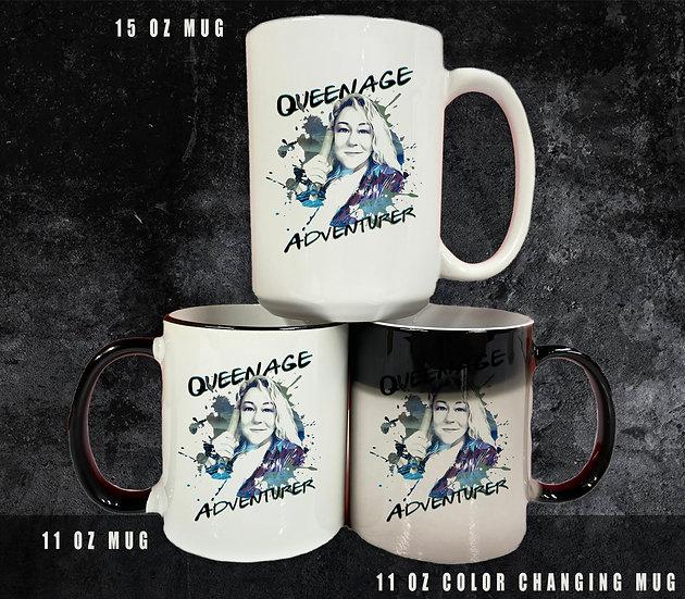 210524.2 Queenager (Kiki) - Adventurer  - Coffee/Tea Mugs