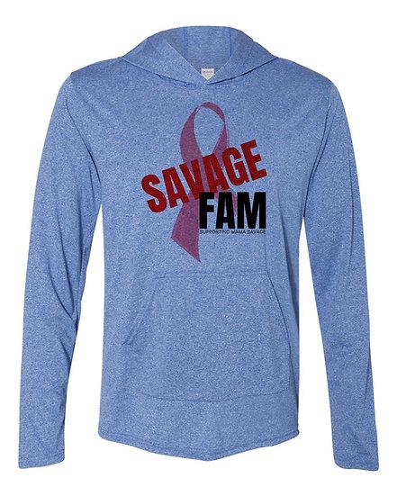 210228.1 Savage Fam - Help Mama Savage Long Sleeve Thin Hoodie