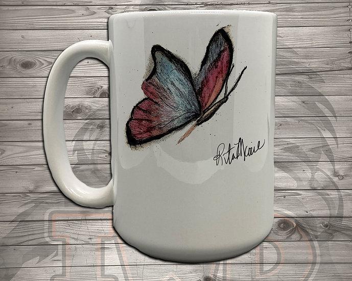 210826.3 - Rita Marie Butterfly - 5 Styles of Mugs