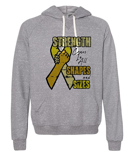 210520.2 - Strength Comes in All Shapes & Sizes - Thick Hoodie