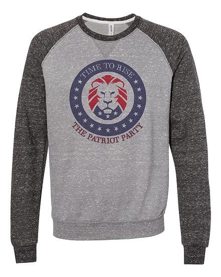 "(201231.1) TRUMP - MAGA ""Lion"" Time To Rise - Sweatshirt"