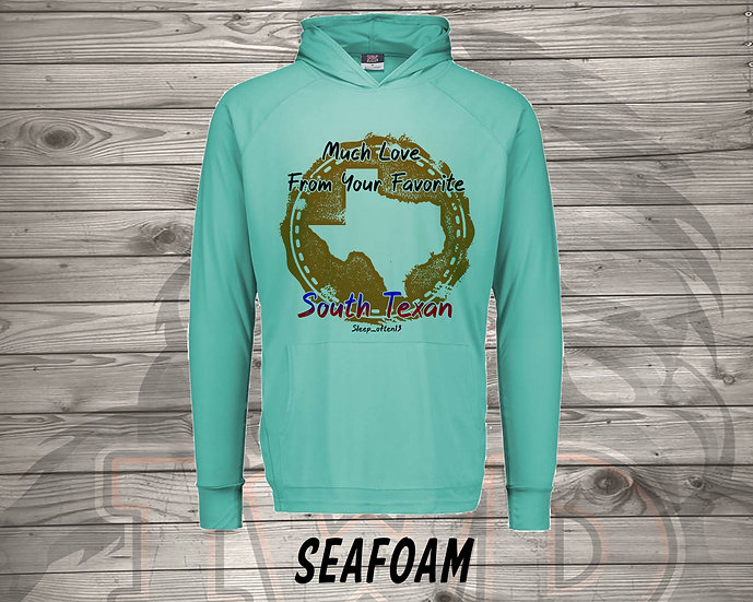210727.1 - From Your Favorite South Texan - Long Sleeve Hoodie