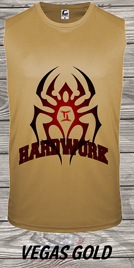 210329.1 The Black Spiderman - Hardwork  - (Men's Tank)