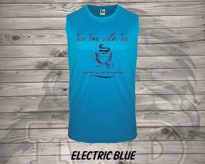 210824.1 - Tea Time with Tee  - (Men's Tank)
