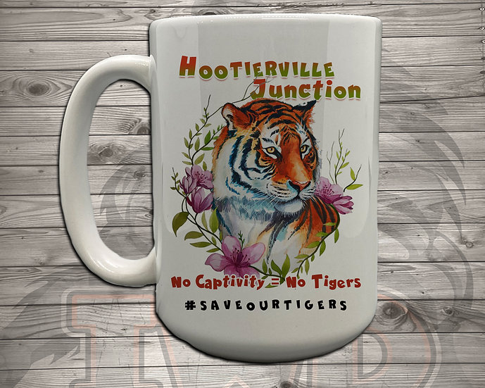 210618.2 - Hootiervile Junction - No Captivity - 5 Styles of Mugs
