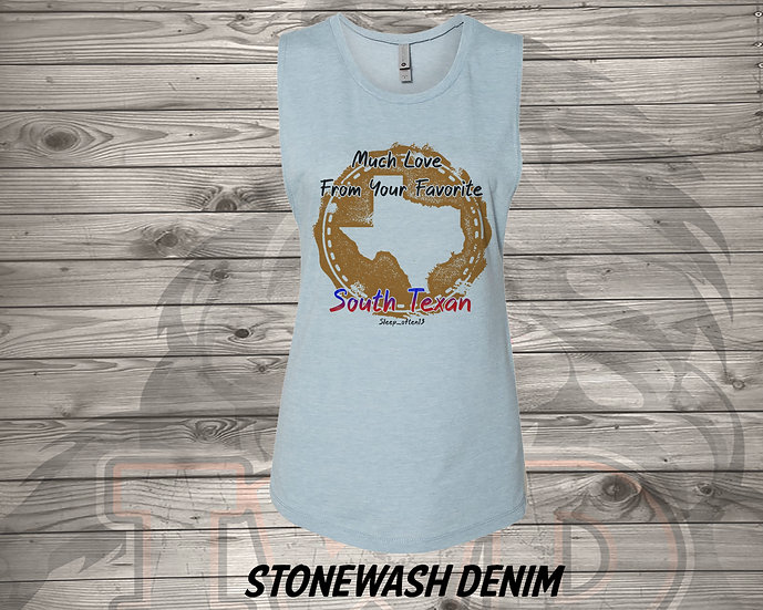 210727.1 - From Your Favorite South Texan - Women's Sleeveless Tank - L