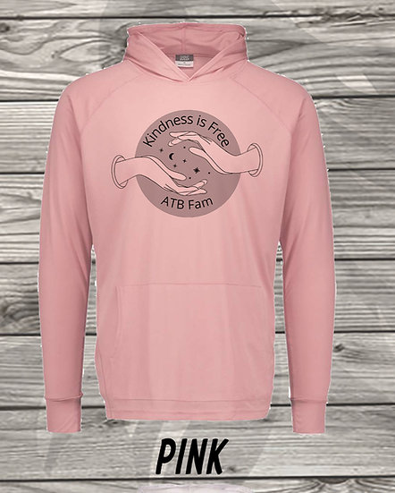 210629.6 - ATB - Kindness Is Free - Long Sleeve Hoodie