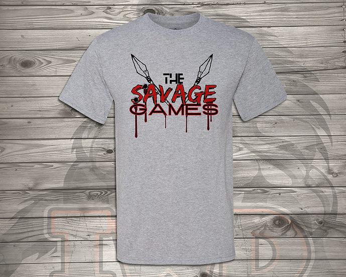 210729.2 - Savage Games Logo - Unisex T-Shirt