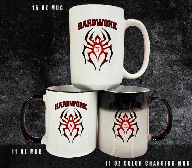 210329.1 - Hardwork - #theblackspiderman - Coffee Mugs