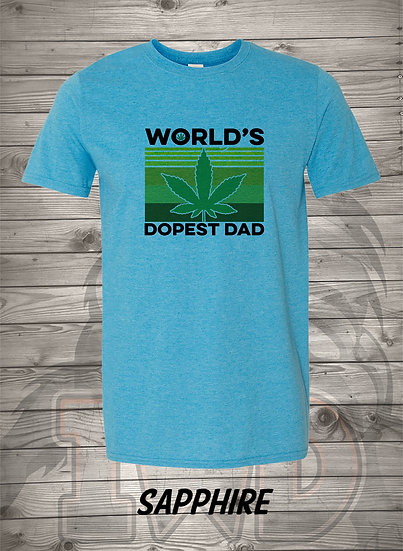 20623.1 - World's Dopest Dad - Unisex T-Shirt