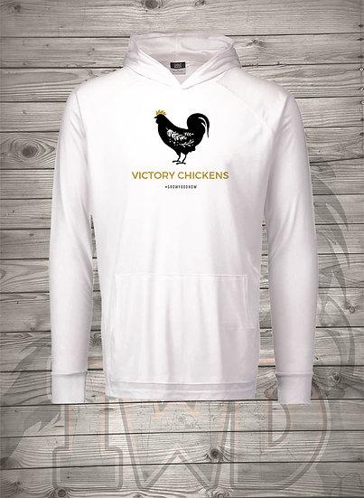 210608.5 - Victory Gardens - Victory Chickens - Long Sleeve Hoodie