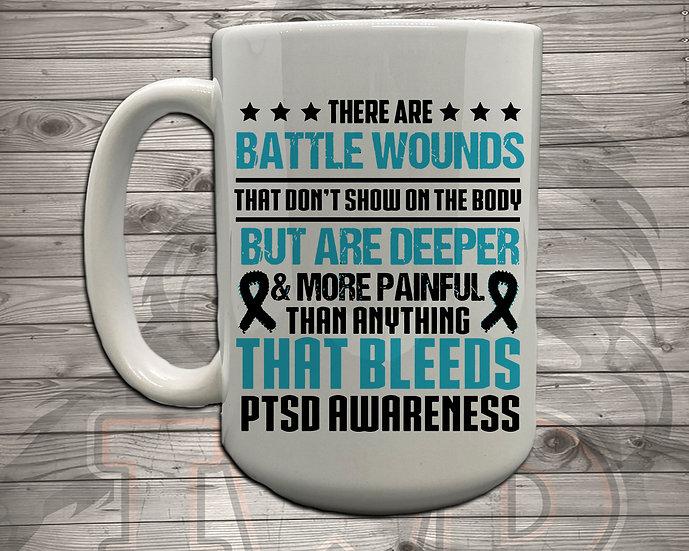 210614.7 - DaddyTrumpTrav - Battle Wounds - Coffee Mug
