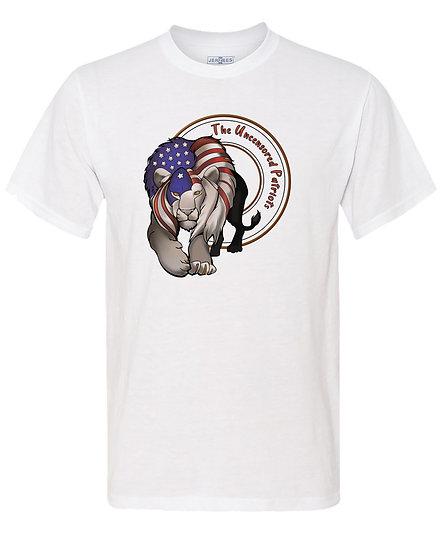 210216.3 Uncensored Patriot Lion Flag T-Shirt