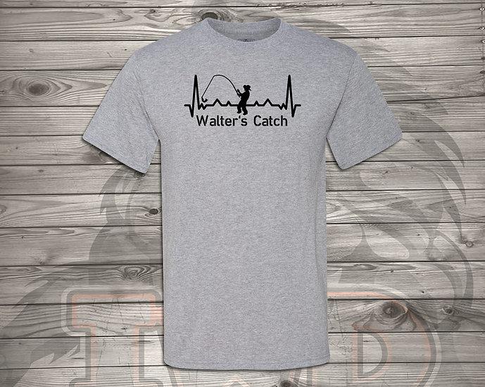 210716.2 Walter's Catch Heratbeat  - Unisex T-Shirt