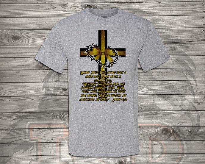 210615.1 - DaddyTrumpTrav - John 9:3 - Unisex Tshirt