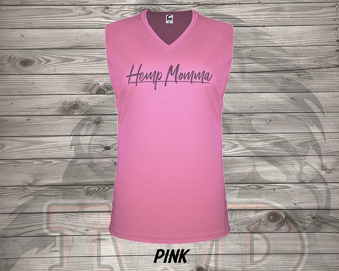 210826.2 - Hemp Momma - Ladies V- Neck Sleeve