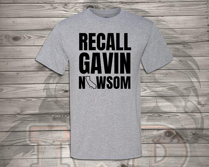 210810.8 - Recall Gavin Newsom - Unisex T-Shirt