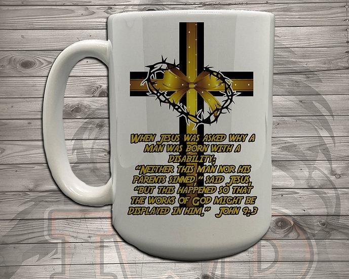 210615.1 - DaddyTrumpTrav - John 9:3 - Coffee Mug