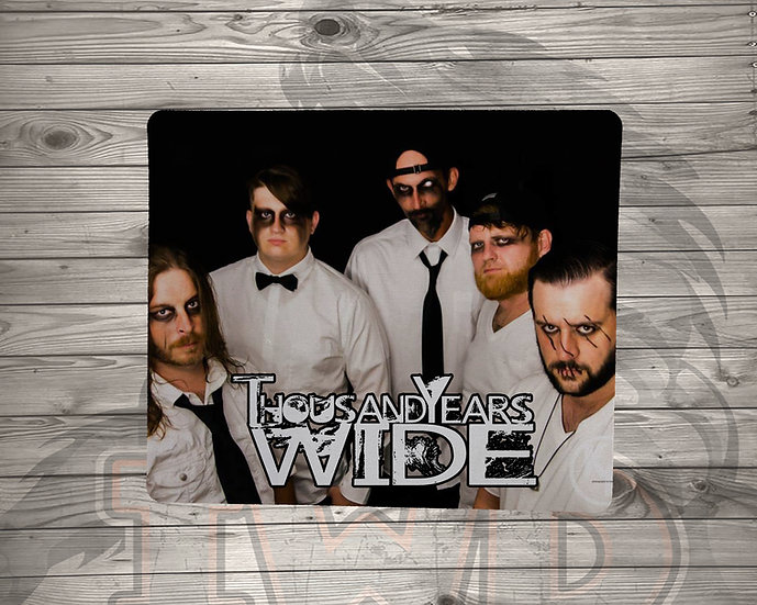 210813.2 1000YW - Bedlam Album Art - Mouse pad