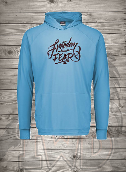 210602.9 - Freedom over Fear - Long Sleeve Thin Hoodie