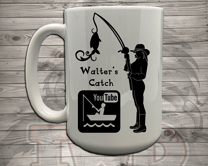 210716.1 Walter's Catch Cowgirl   - 5 Styles of Mugs