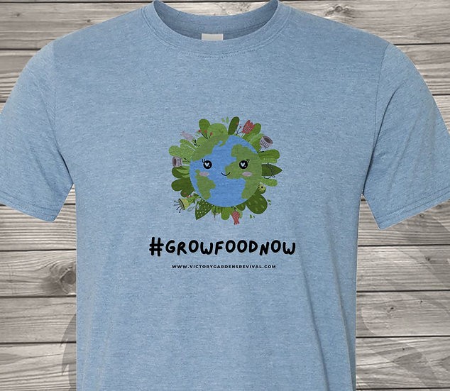 210608.7 - Victory Gardens - Earth Design - Tshirt