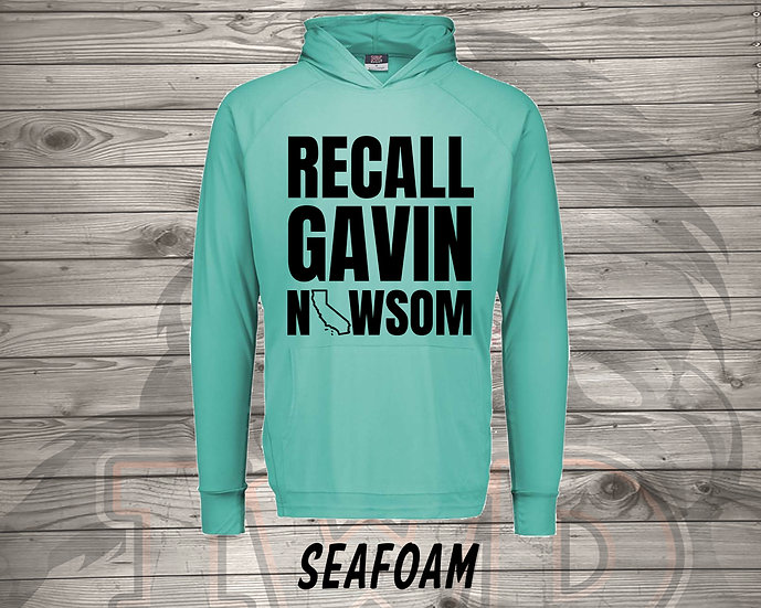 210810.8 - Recall Gavin Newsom - Long Sleeve Hoodie
