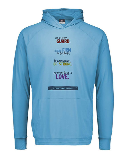 210323.2 - 1st Corinthians - Stand Firm in the Faith - Thin Hoodie
