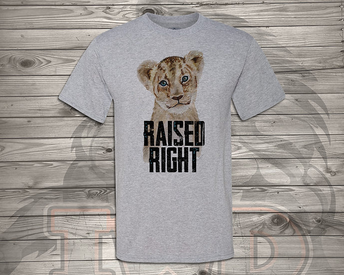210824.3 - Raised Right Baby E - Unisex T-Shirt