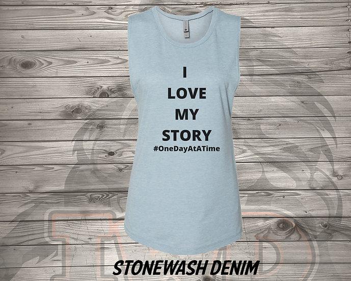 211011.5 - I Love My Story - Women's Sleeveless Tank